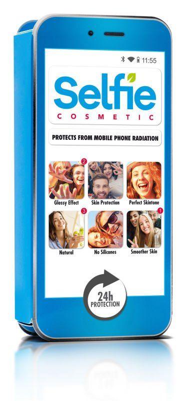Selfie Cosmetic Azul Cian Locion facial - Comprar Online 2