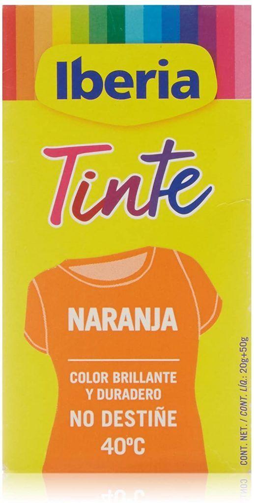 Tinte Iberia Color Naranja - Donde comprar On line 2