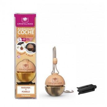 Ambientador Coche Aroma Naranja y Pomelo - Donde comprar On line 2