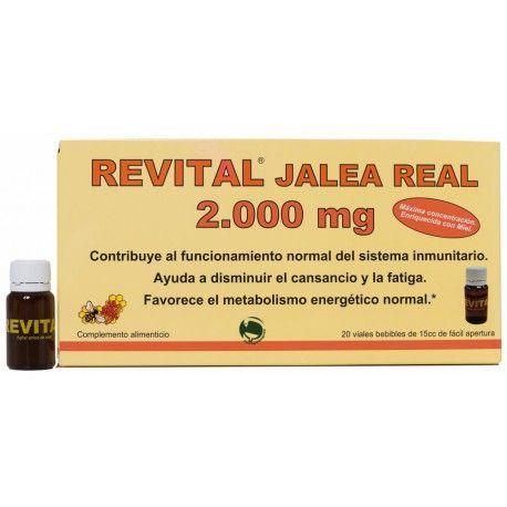 Ampollas Revital Jalea Real - Comprar en Linea 2