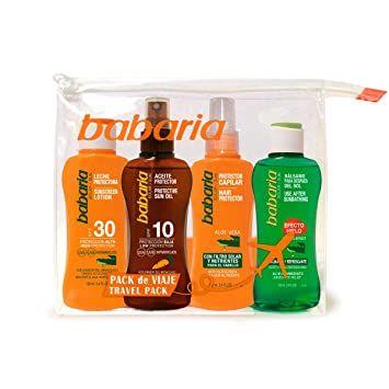 Babaria Pack de Viaje Solar 3 Productos - Comprar Online 2
