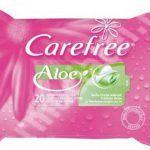 Carefree Toallitas Té Verde y Aloe - La Mejor selección Online