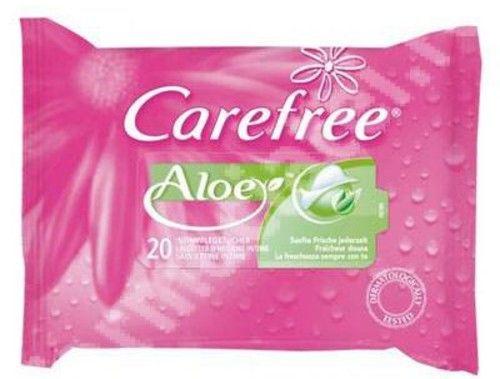 Carefree Toallitas Té Verde y Aloe - La Mejor selección Online 2