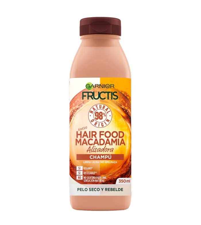 Champú Alisador Hair Food Macadamia - Opiniones en Linea 2
