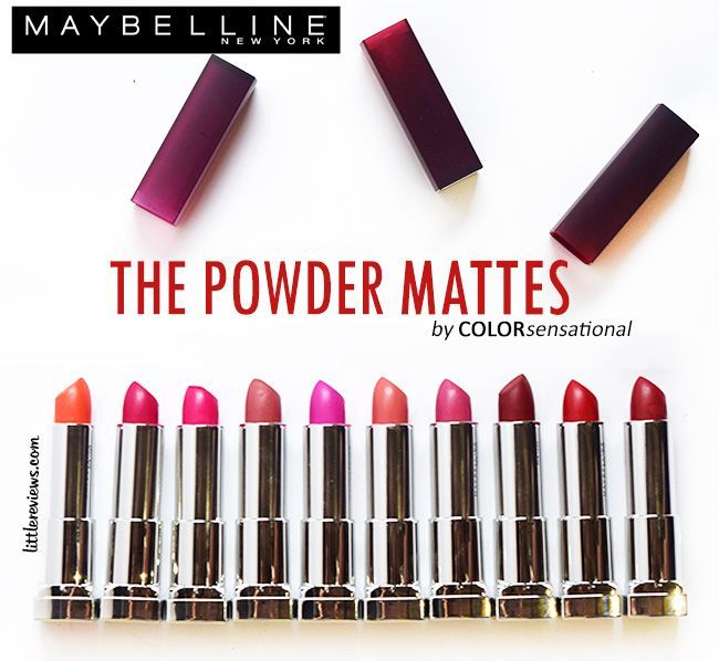 Color Sensational Powder Matte - Opiniones Online 2