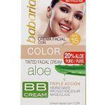 Crema Facial Aloe Vera Con Color SPF15 - Opiniones en Linea
