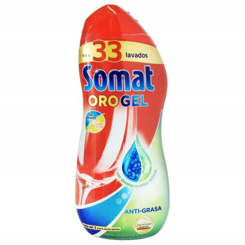 Detergente Lavavajillas Oro Gel Anti -  Mejor selección Online 2