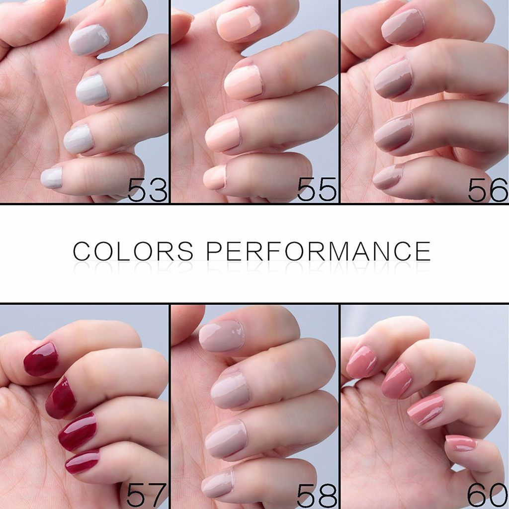 Gel Nail Lacquer French Manicure - Opiniones en Linea 2