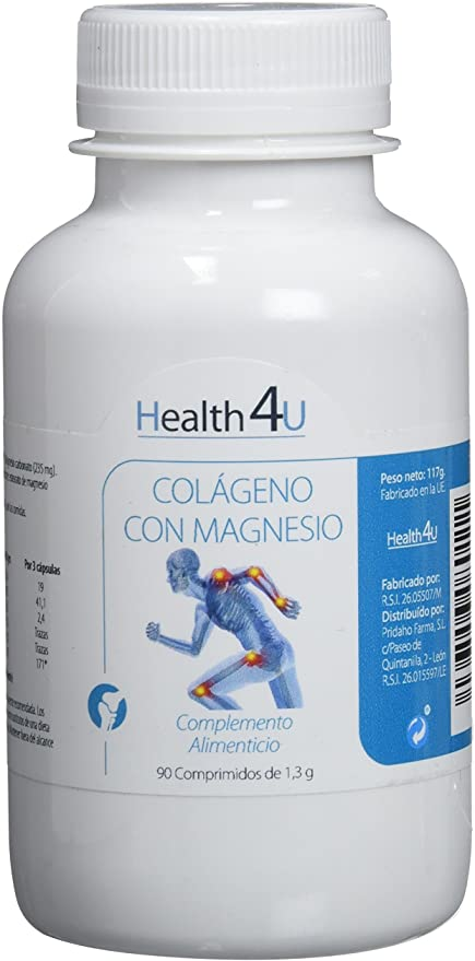 H4u colageno con magnesio comprimidos - Donde comprar Online 2