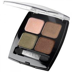 Isadora Eye Shadow Quartet Golden - Top 5 en Linea 2