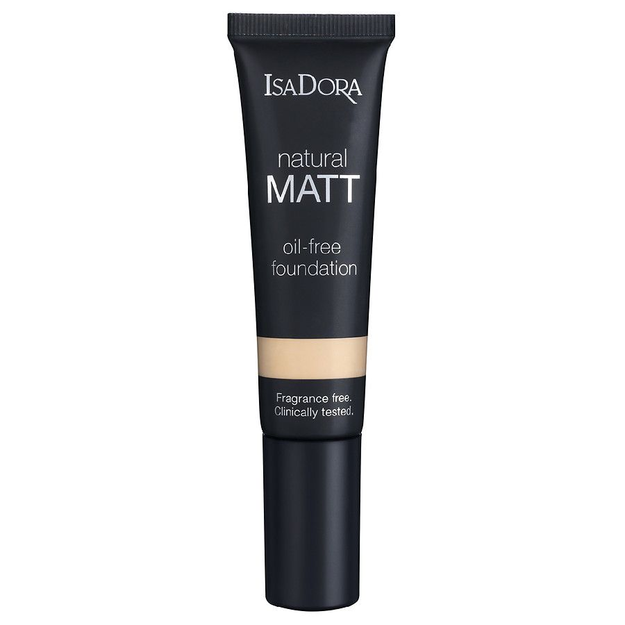 Isadora Natural Matt Oil Free Foundation - Comprar Online 2