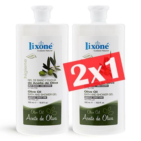 Lixone Gel Baño Aceite De Oliva - Comprar en Linea 2