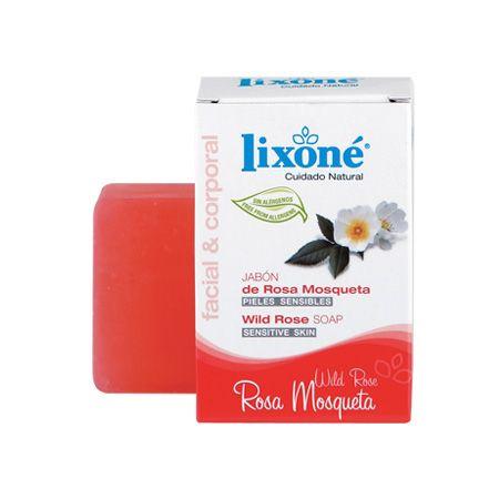 Lixone Jabón Pastilla Rosa Mosqueta - Donde comprar Online 2