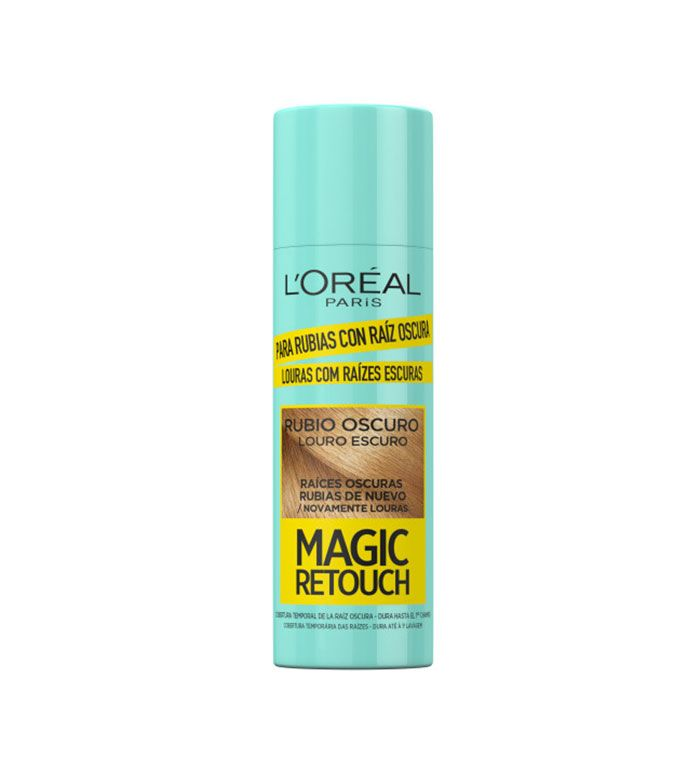 Magic Retouch Spray Rubio Claro Canas - Opiniones Online 2