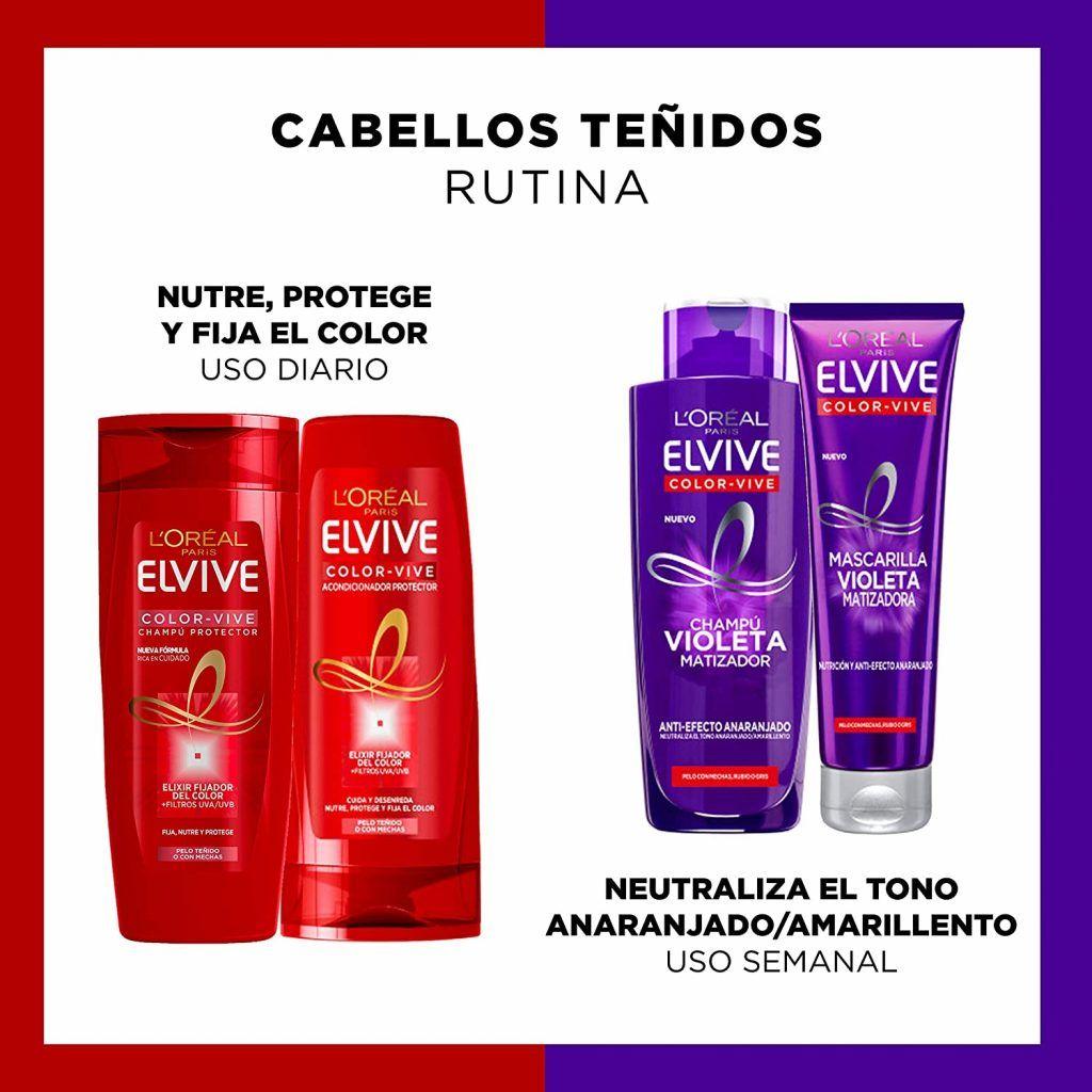 Mascarilla Elvive Color Vive Violeta - Opiniones Online 2