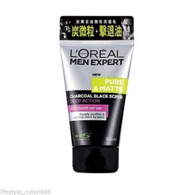 Men Expert Pure Charcoal Scrub - Top 5 en Linea 2