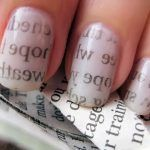 Nail Art Paper Print Manicure - Opiniones On line