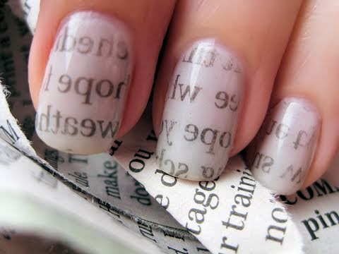 Nail Art Paper Print Manicure - Opiniones On line 2