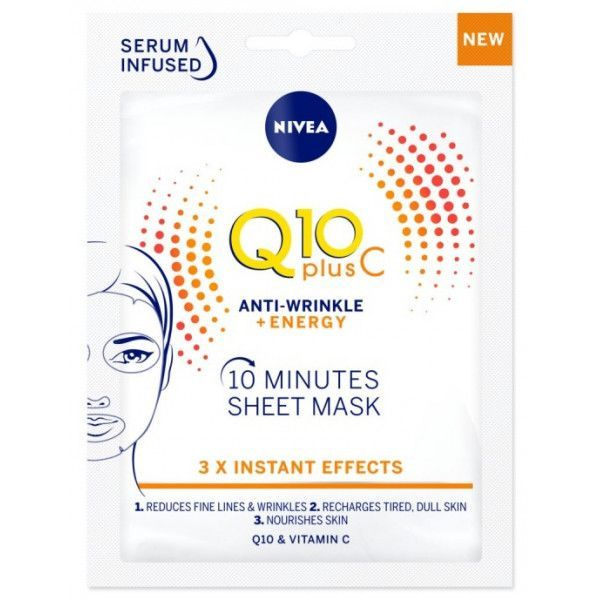 Nivea Q 10 Plus Mascarilla De Tejido - Comprar On line 2