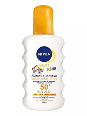 Nivea Spray Sensitive Protege Juega -  Mejor selección en Linea 2