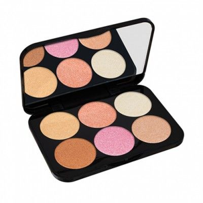 Paleta de Coloretes All Glow Make - Opiniones Online 2