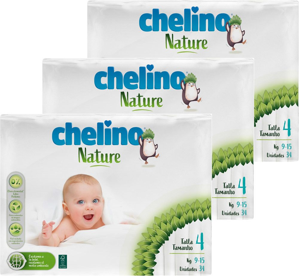 Pañal Chelino Nature Talla 5 - La Mejor selección en Linea 2
