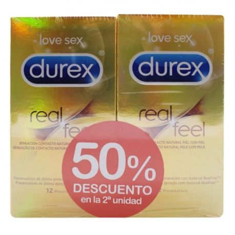 Preservativos Real Feel Pack 12 Unidades - Comprar On line 2