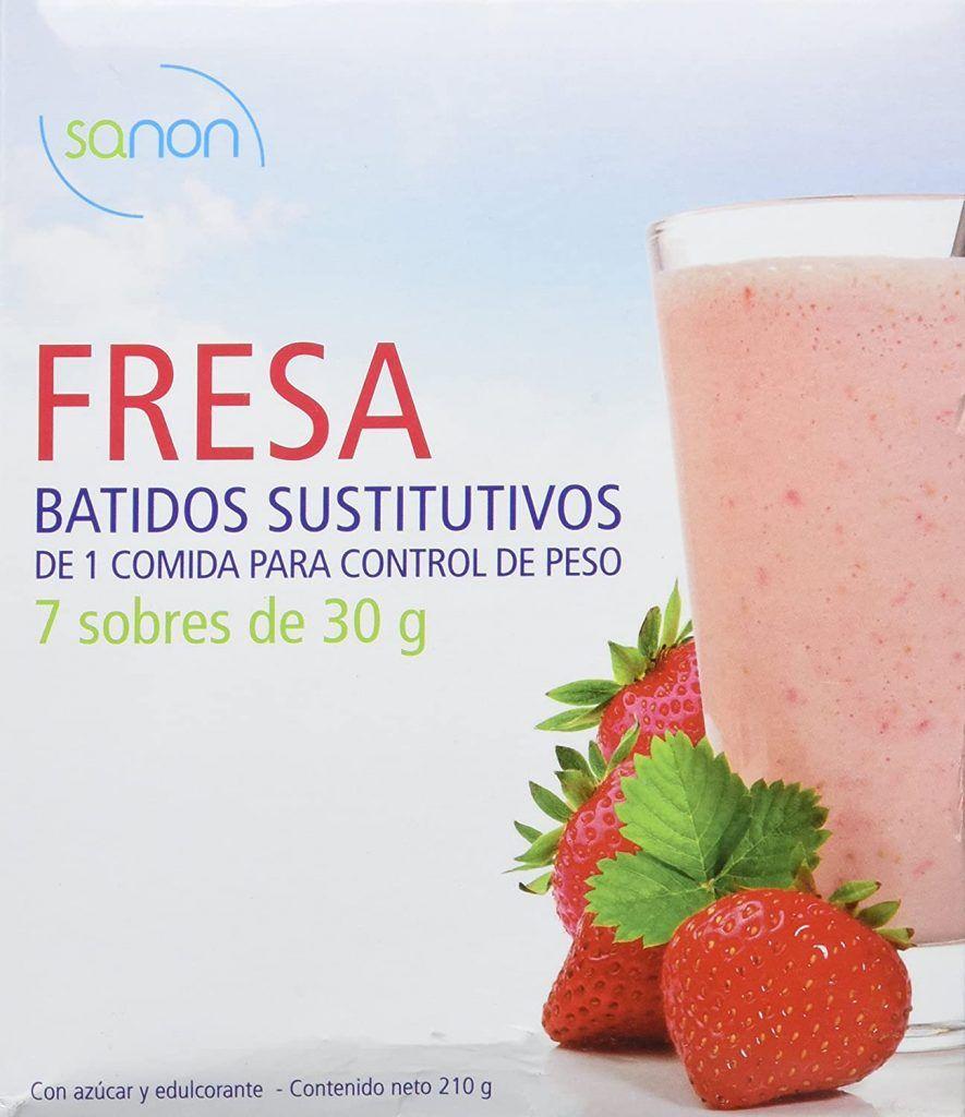 Sanon batido sustitutivo fresa - Donde comprar Online 2