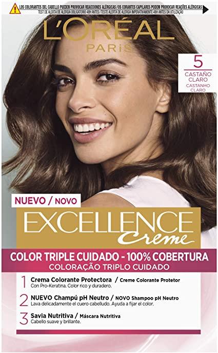 Tinte Capilar 5/0 Castaño Claro - Opiniones Online 2
