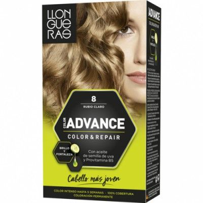 Tinte Capilar Advance 8 Rubio Claro - Donde comprar en Linea 2