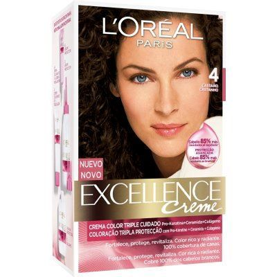 Tinte Excellence Creme 4 Castaño - Opiniones On line 2