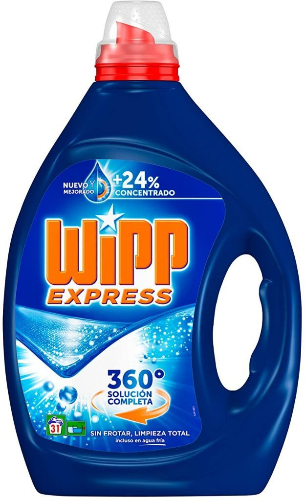 Wipp Detergente Gel Azul - Opiniones Online 2