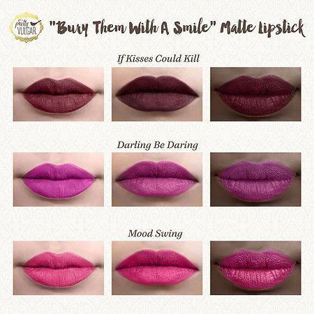 Bury Them With A Smile: Matte Lipstick - La Mejor selección en Linea 2