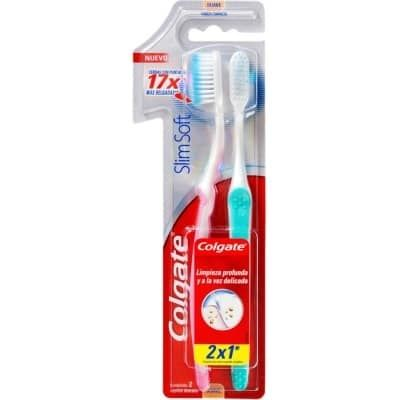 Cepillo Dental Slim Soft Pack 2 x 1 - Comprar On line 2
