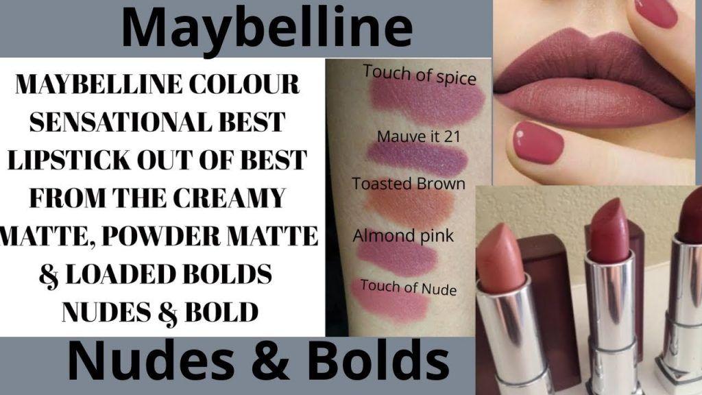 Color Sensational The Creamy Mattes - Top 5 On line 2