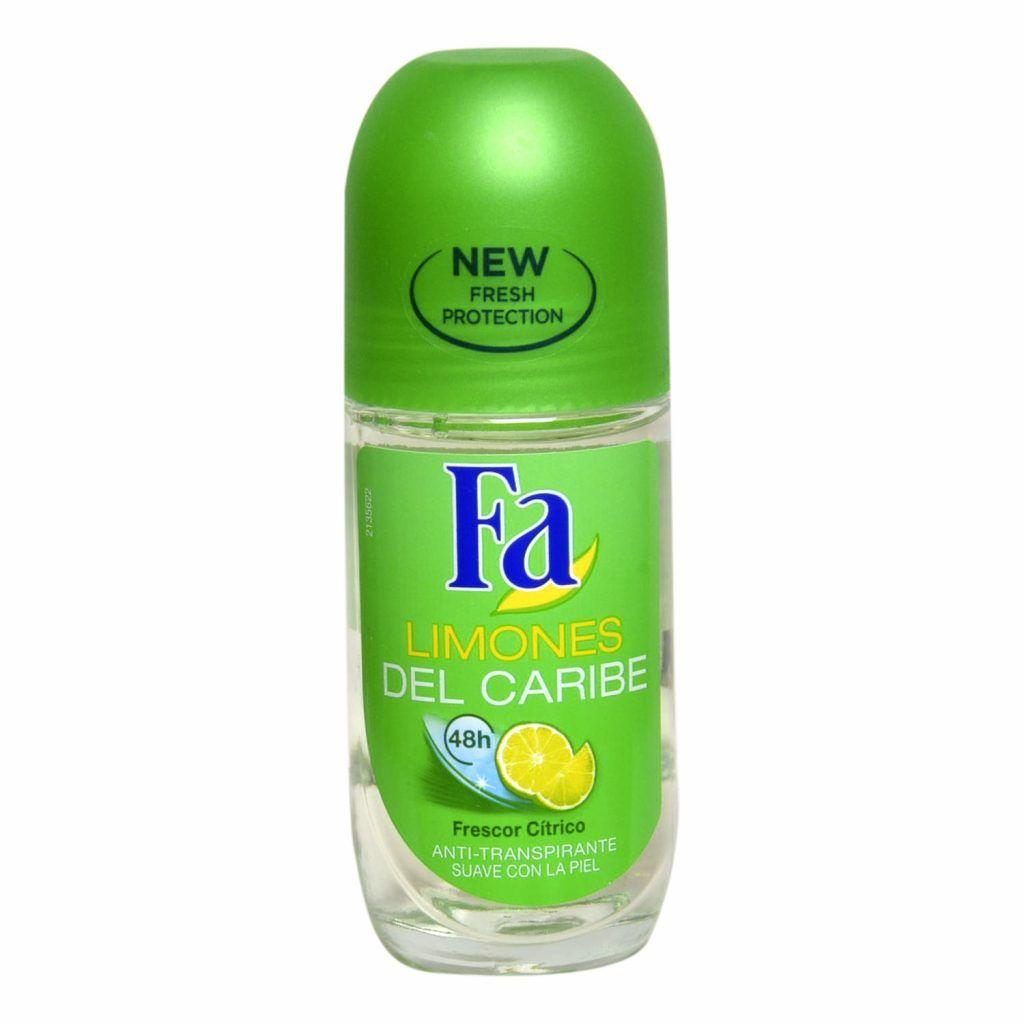 Desodorante Roll On Limones Del Caribe - La Mejor selección en Linea 2