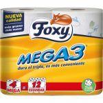 Foxy Papel Higiénico Mega 3 - Comprar Online