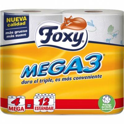 Foxy Papel Higiénico Mega 3 - Comprar Online 2