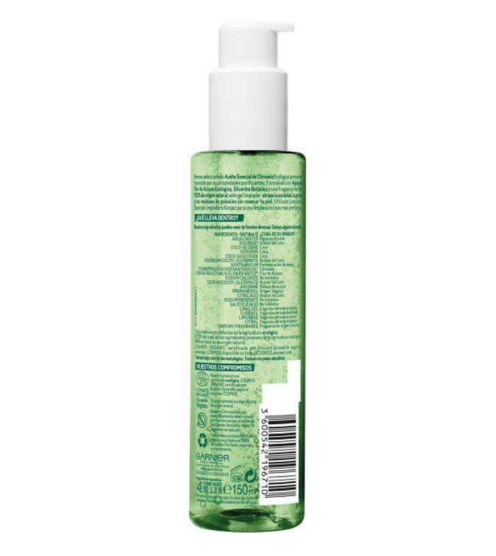 Garnier Gel Limpiador Detox Lemon Grass - Top 5 Online 2