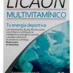 licaon multivitaminico 60 capsulas - Opiniones en Linea