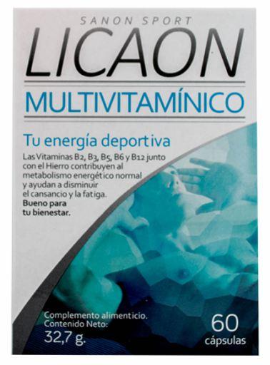 licaon multivitaminico 60 capsulas - Opiniones en Linea 2