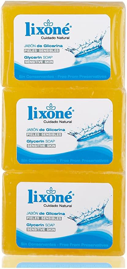 Lixone Jabón Pastilla Glicerina Natural - Mejor selección en Linea 2