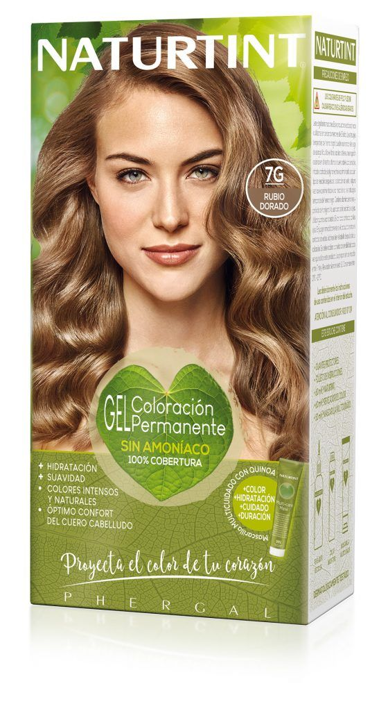 Tinte Capilar 7.G Rubio Dorado - Comprar On line 2